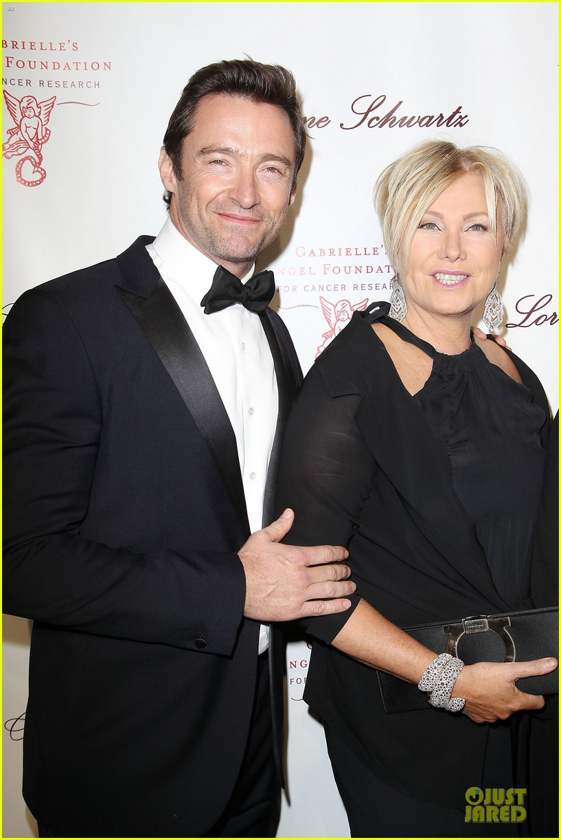 hugh jackman angel ball couple 022982614
