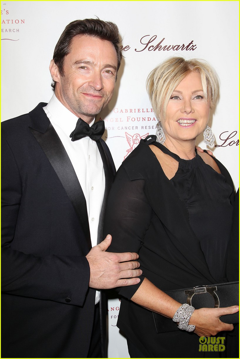 hugh jackman angel ball couple 322982644
