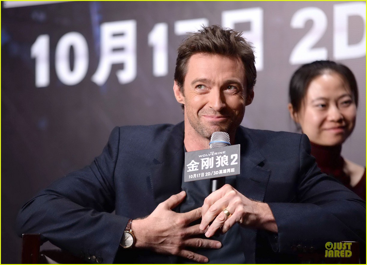 hugh jackman wolverine china press conference 18