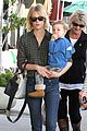 january jones baby boy xander to lunch with friends 11