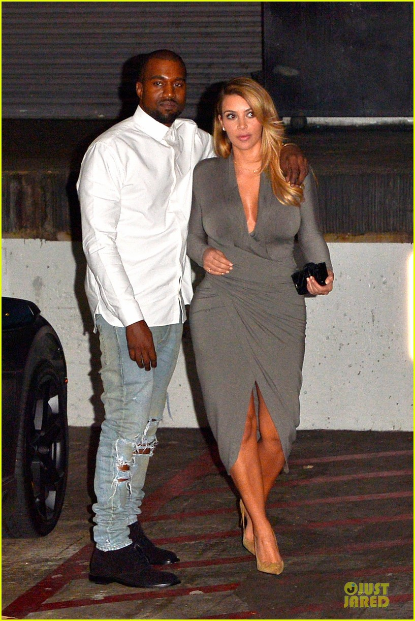 kim kardashian kanye west la opera date night 012970409