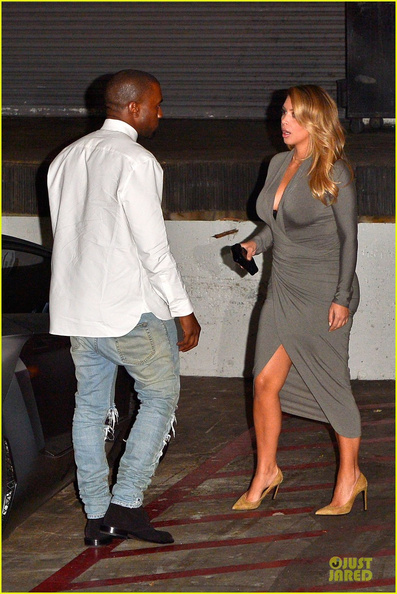 kim kardashian kanye west la opera date night 14