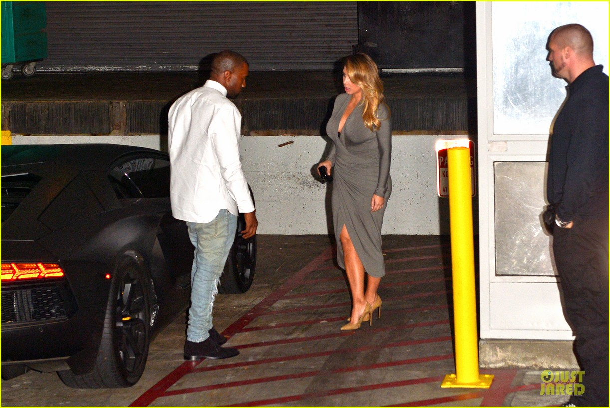 kim kardashian kanye west la opera date night 19