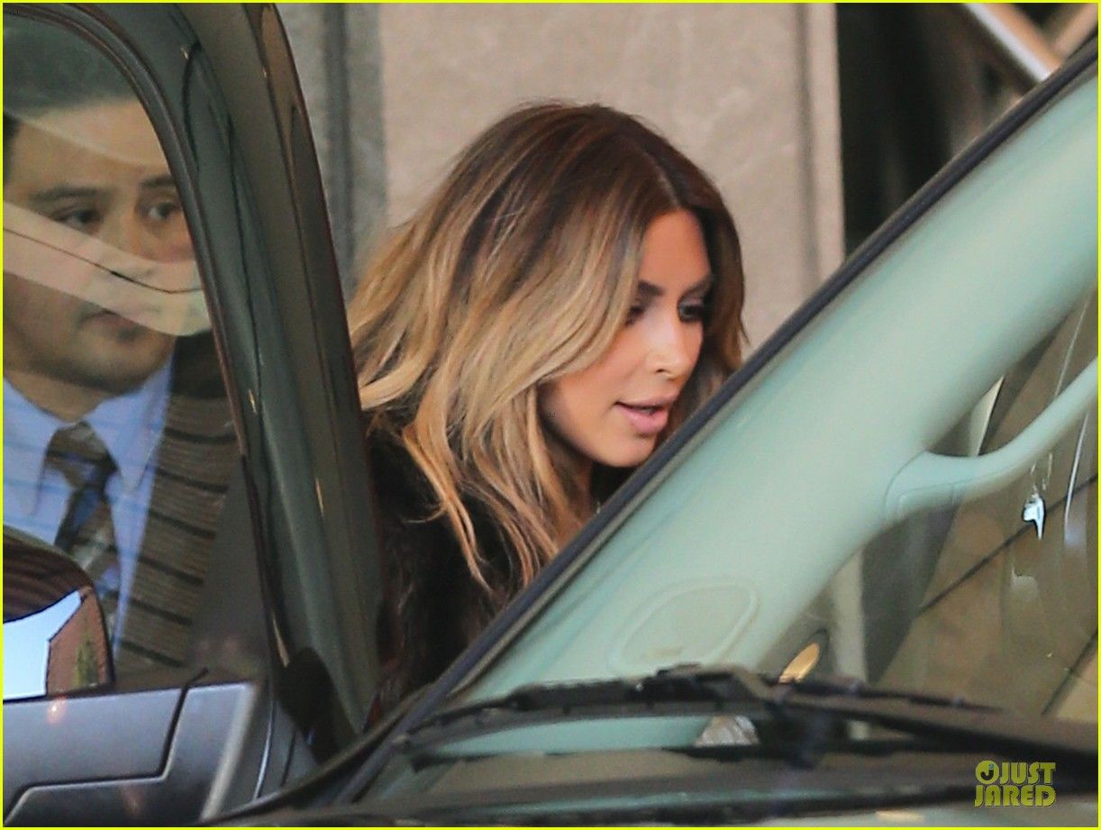 kim kardashian steps out after engagement to kanye west 152977219
