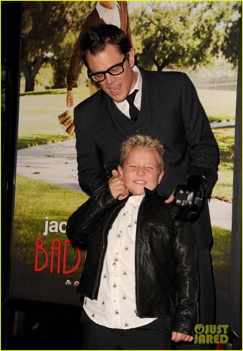 johnny knoxville jackson nicoll bad grandpa premiere 04