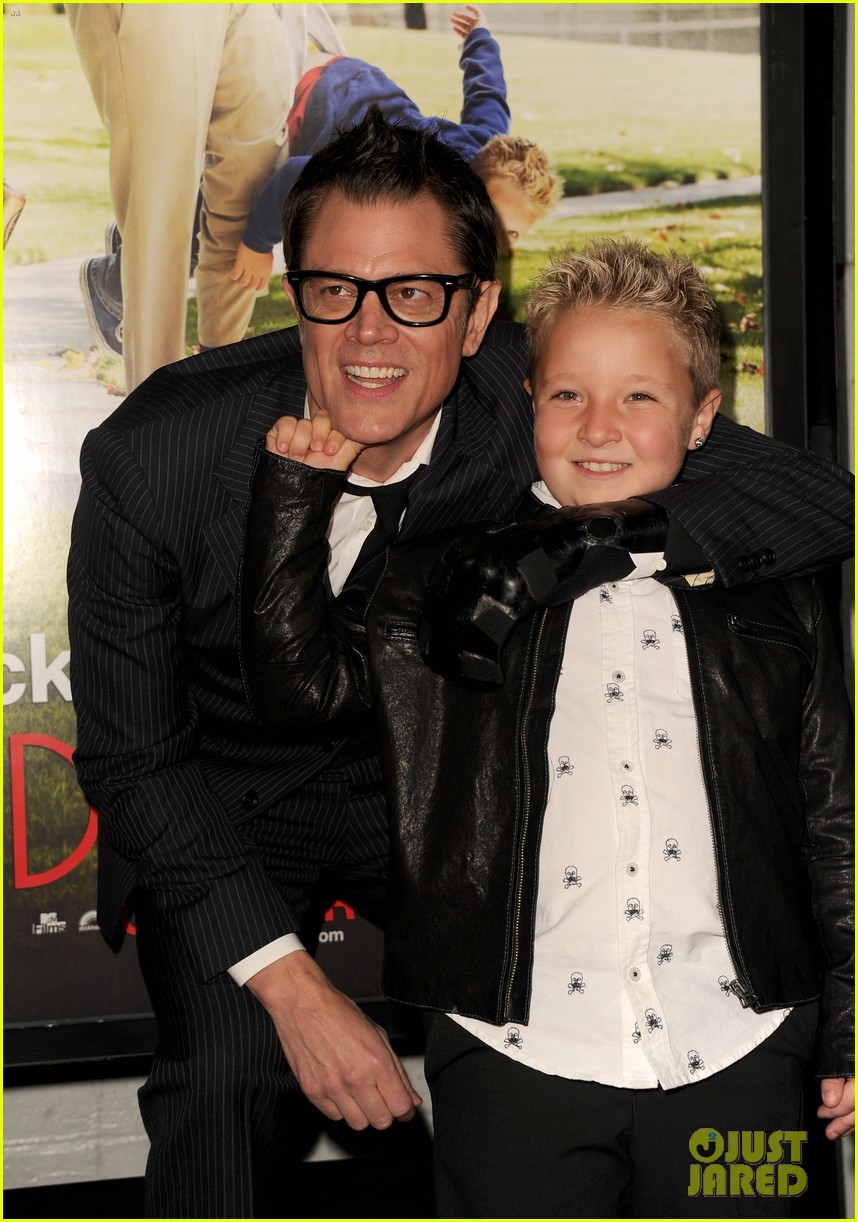 johnny knoxville jackson nicoll bad grandpa premiere 07