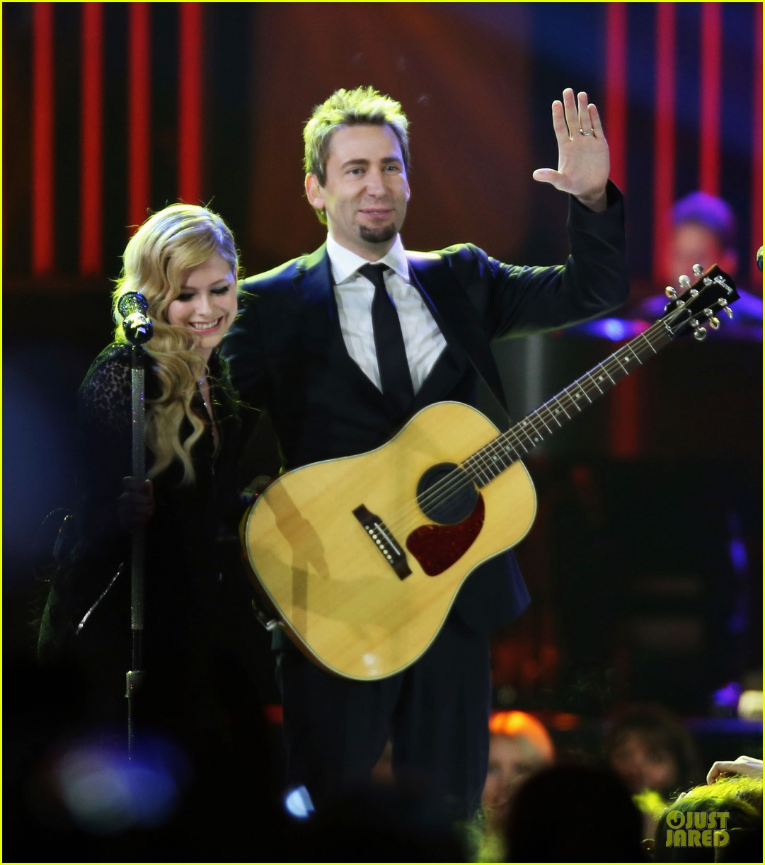 avril lavigne chad kroeger we day couple in vancouver 05