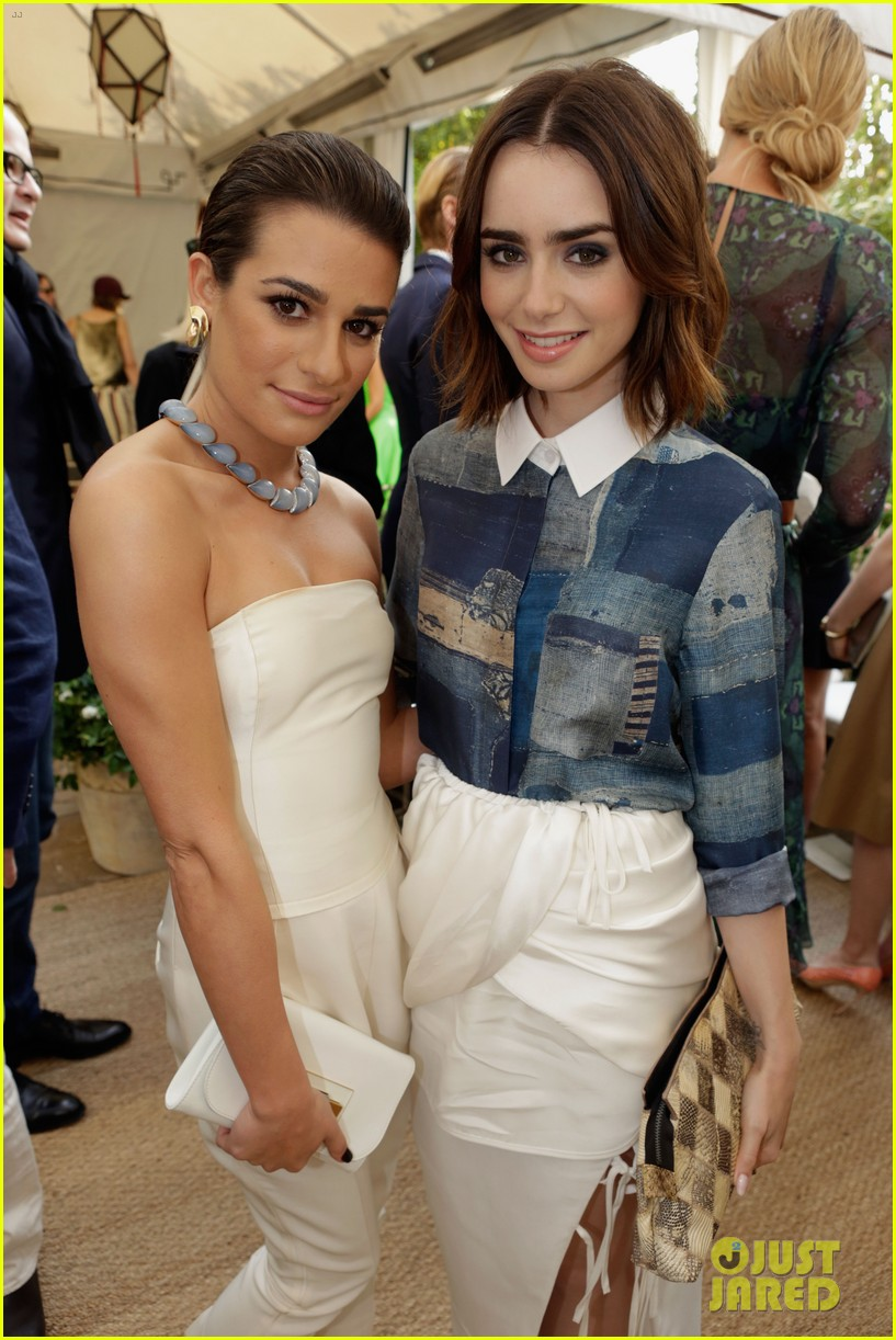lea michele lily collins cfda vogue fashion fund 2013 032978187