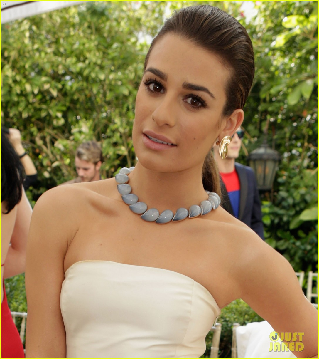 lea michele lily collins cfda vogue fashion fund 2013 05