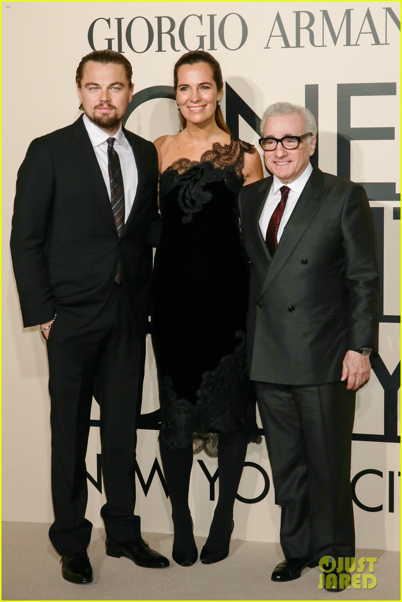 leonardo dicaprio hilary swank georgio armani one night only nyc 112978834