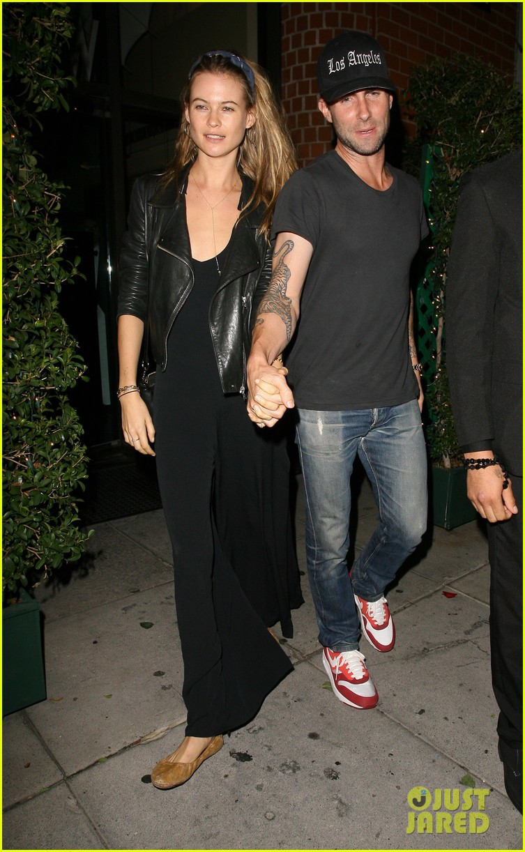 adam levine behati prinsloo mr chows date night 052963746