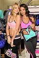 lily aldridge lindsay ellingson display abs at sports bra launch 04