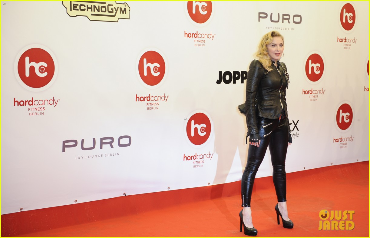 madonna hard candy fitness club opening in berlin 152973784
