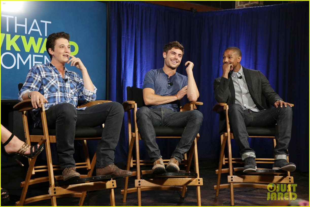 michael b jordan miles teller that awkward moment qa with zac efron 18