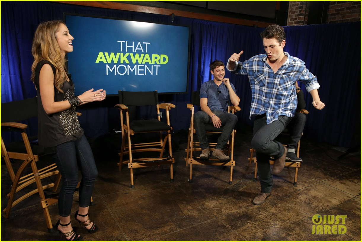 michael b jordan miles teller that awkward moment qa with zac efron 212973161