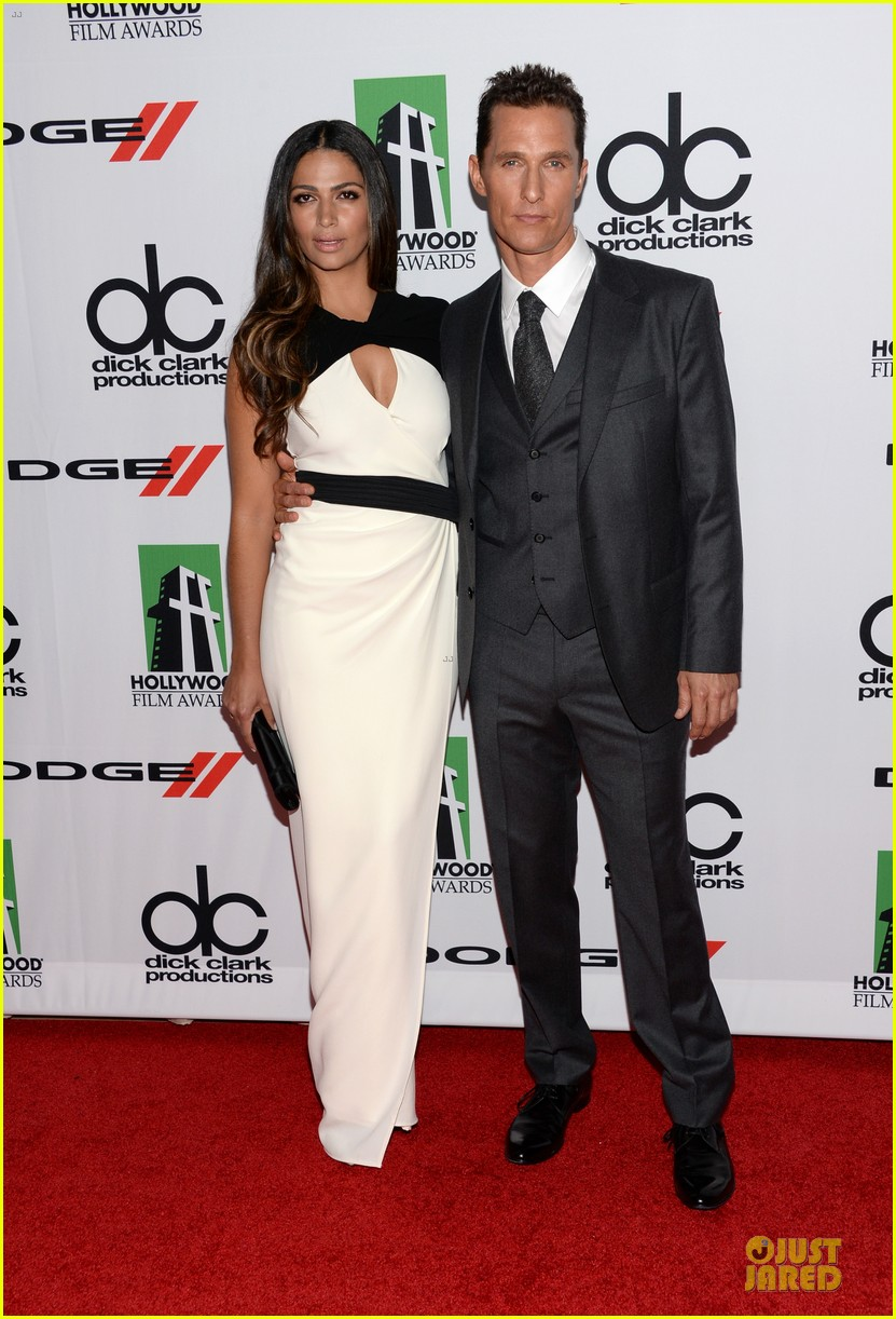 matthew mcconaughey camila alves hollywood film awards 2013 062976616
