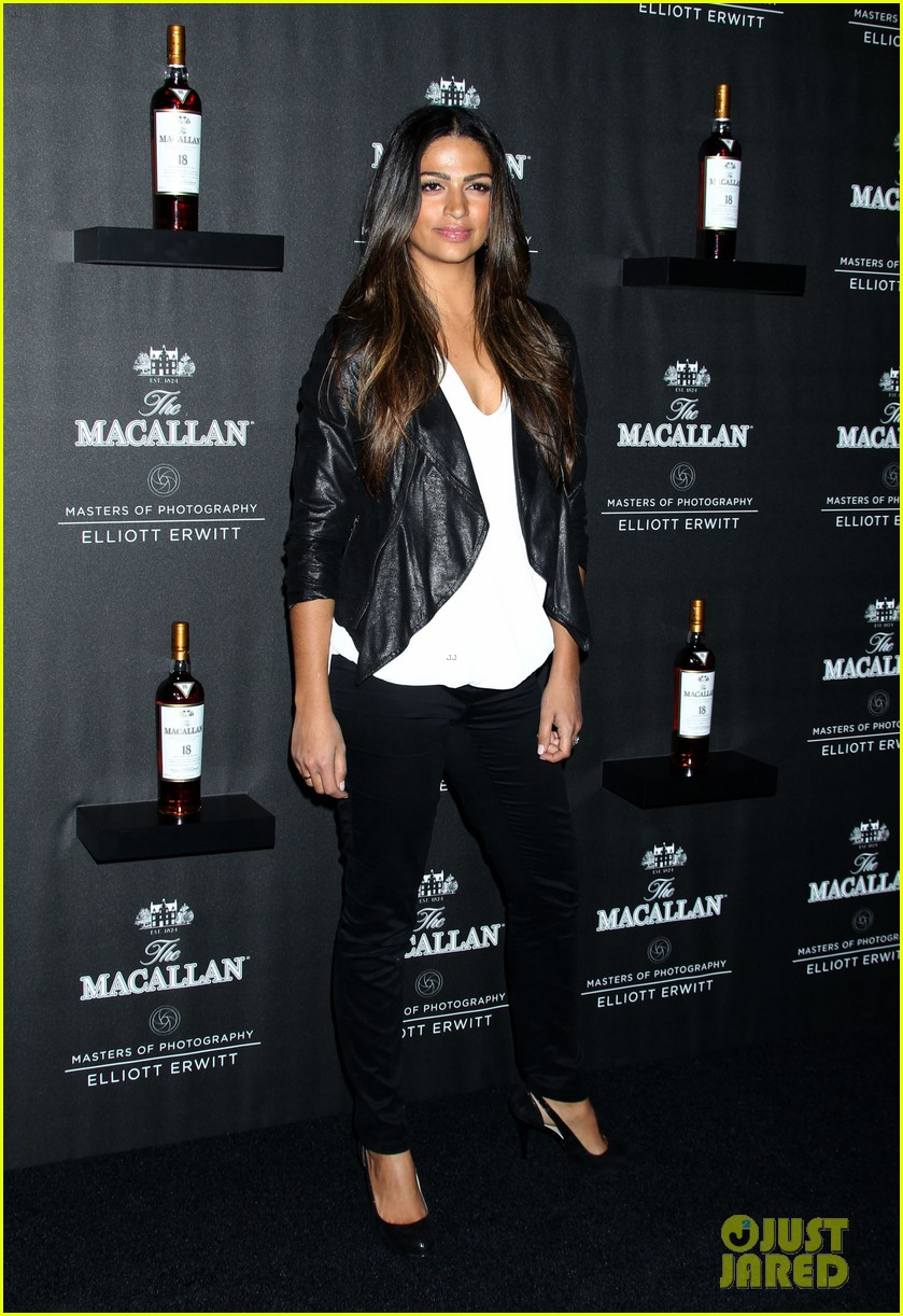 matthew mcconaughey camila alves macallan masters of photography debut 042979033