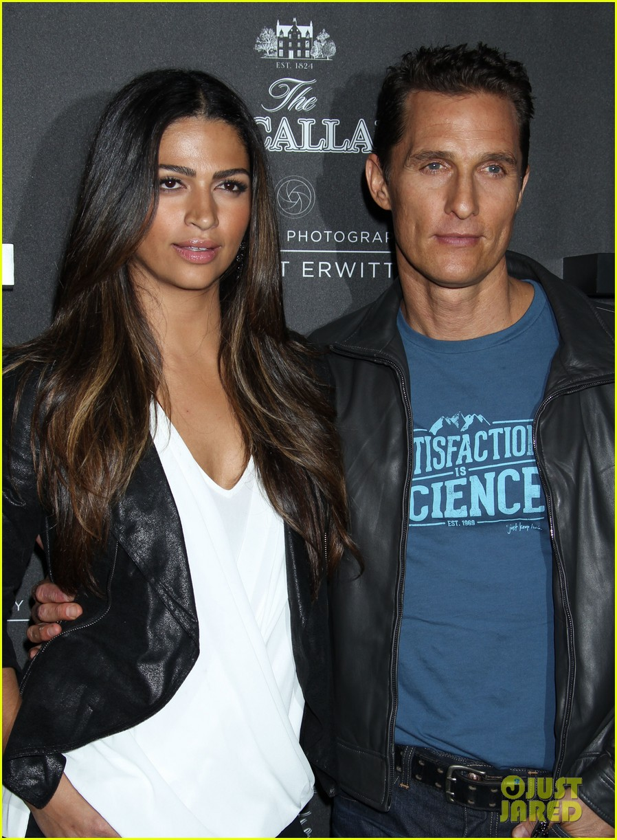 matthew mcconaughey camila alves macallan masters of photography debut 152979044