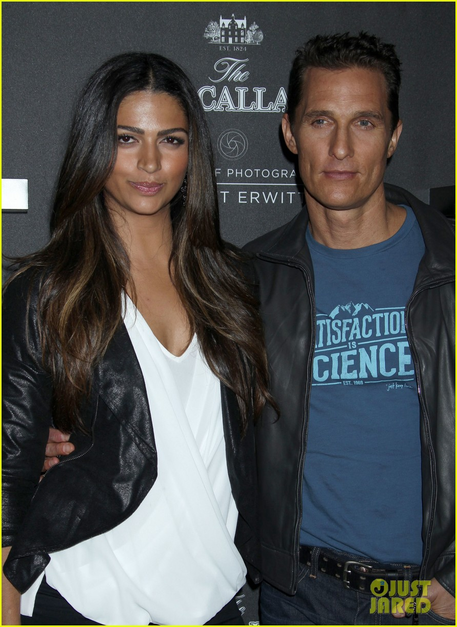 matthew mcconaughey camila alves macallan masters of photography debut 16