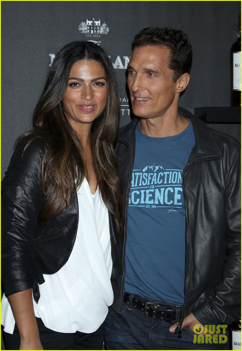 matthew mcconaughey camila alves macallan masters of photography debut 17