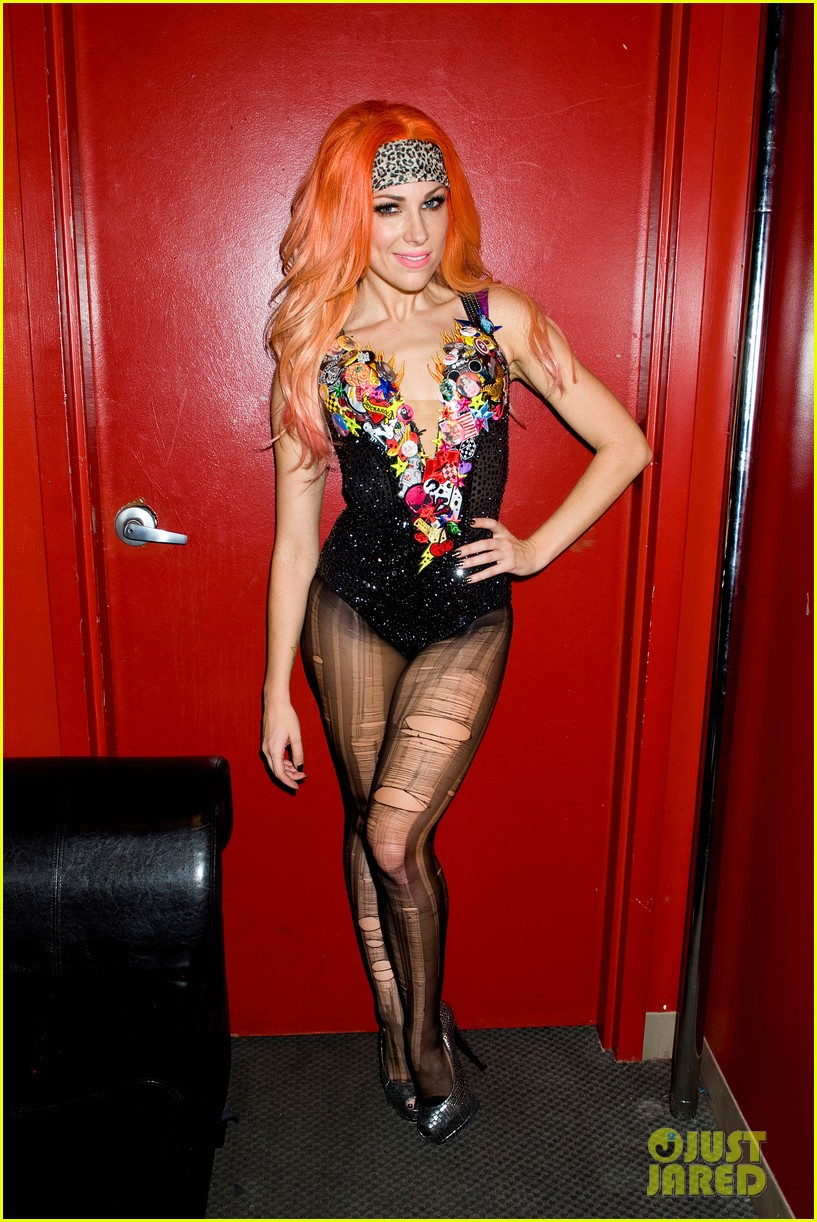 bonnie mckee just jared halloween party 2013 02