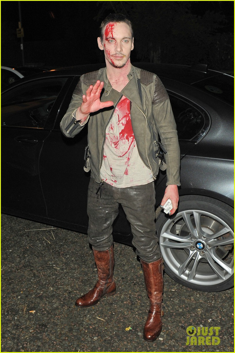 Jonathan Rhys-Meyers is Bloody Hot at Halloween Party!: Photo ...