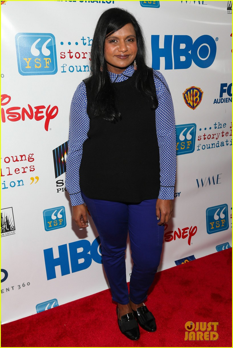 mindy kaling max greenfield young storytellers foundation performers 04