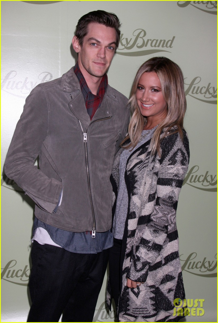 chad michael murray nicki whelan lucky brand store opening 08