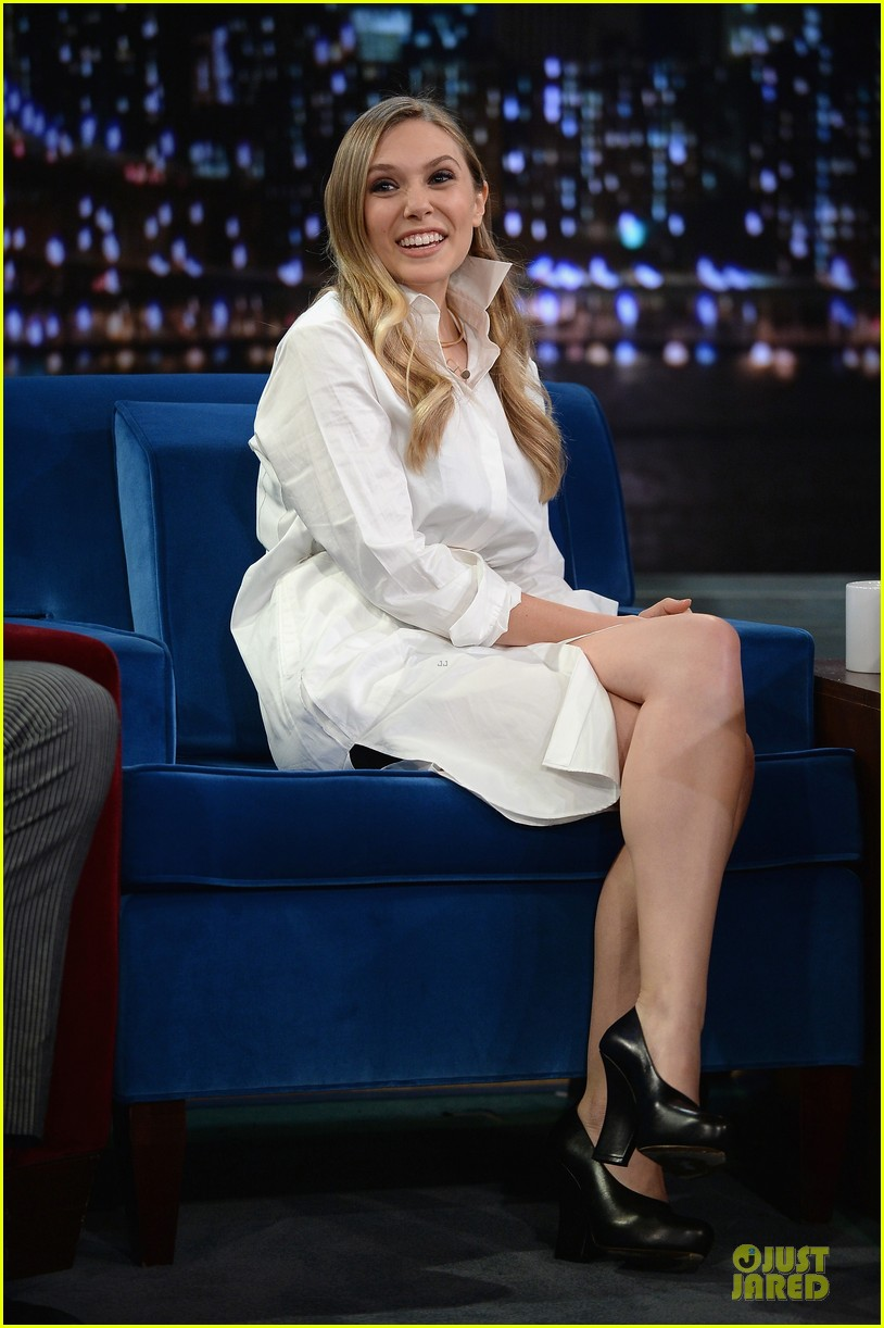 elizabeth olsen kill your darlings on fallon 122963606