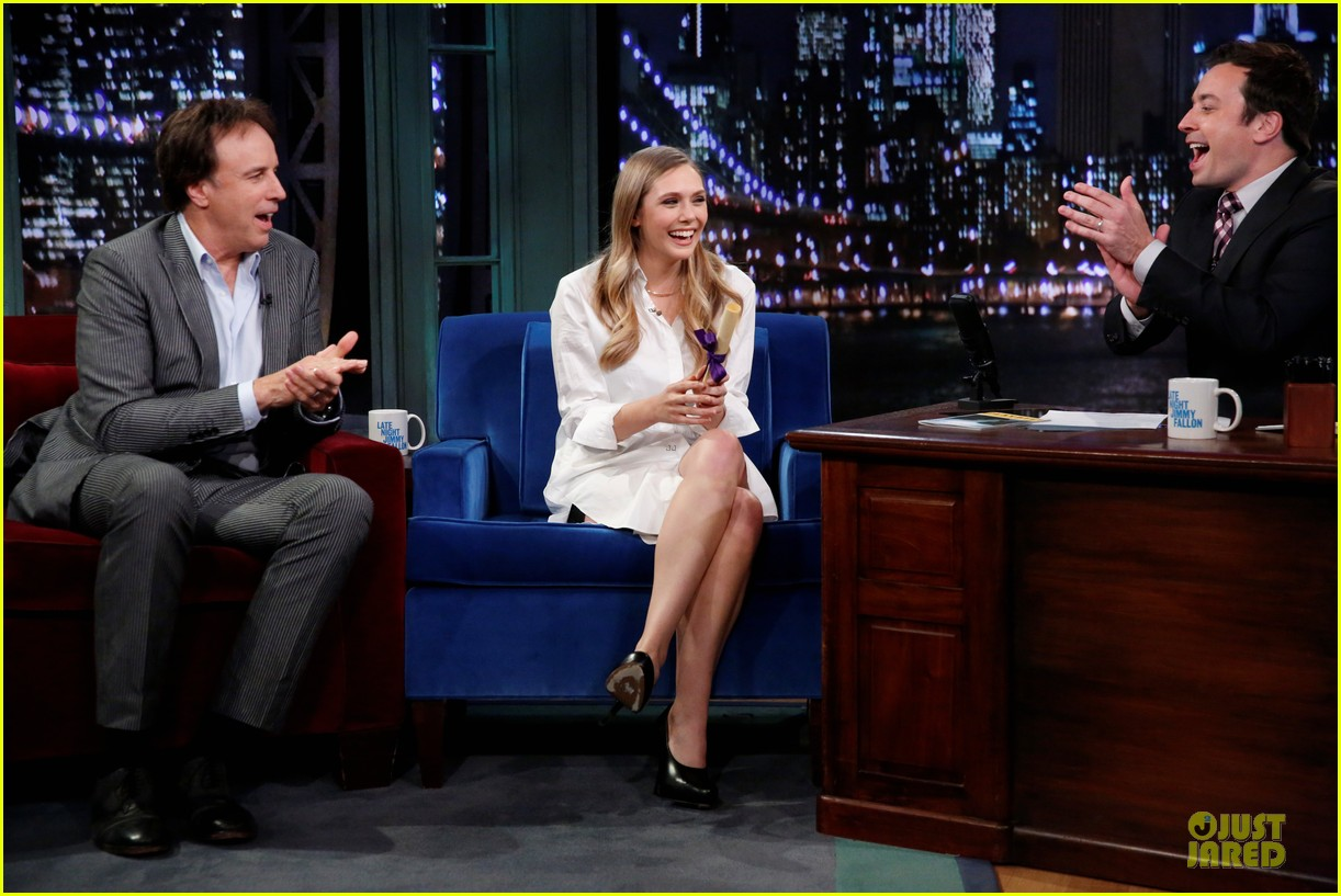elizabeth olsen kill your darlings on fallon 152963609