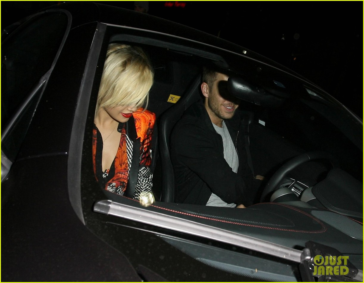 rita ora calvin harris hakkasan dinner date in beverly hills 20
