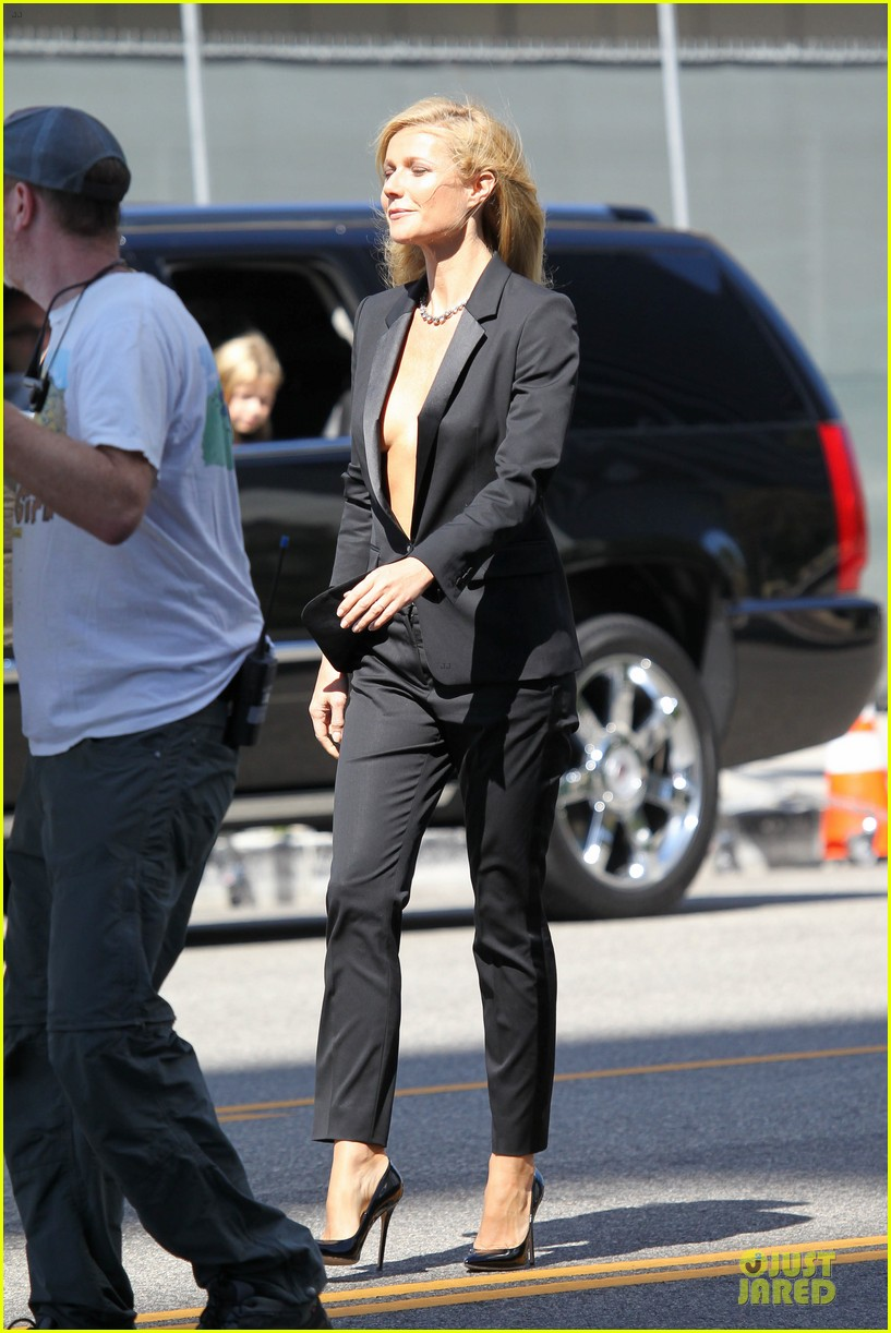 gwyneth paltrow goes braless for hugo boss!: photo 2964031 | gwyneth