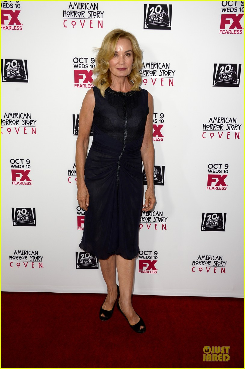 sarah paulson jessica lange american horror story coven premiere 062967070
