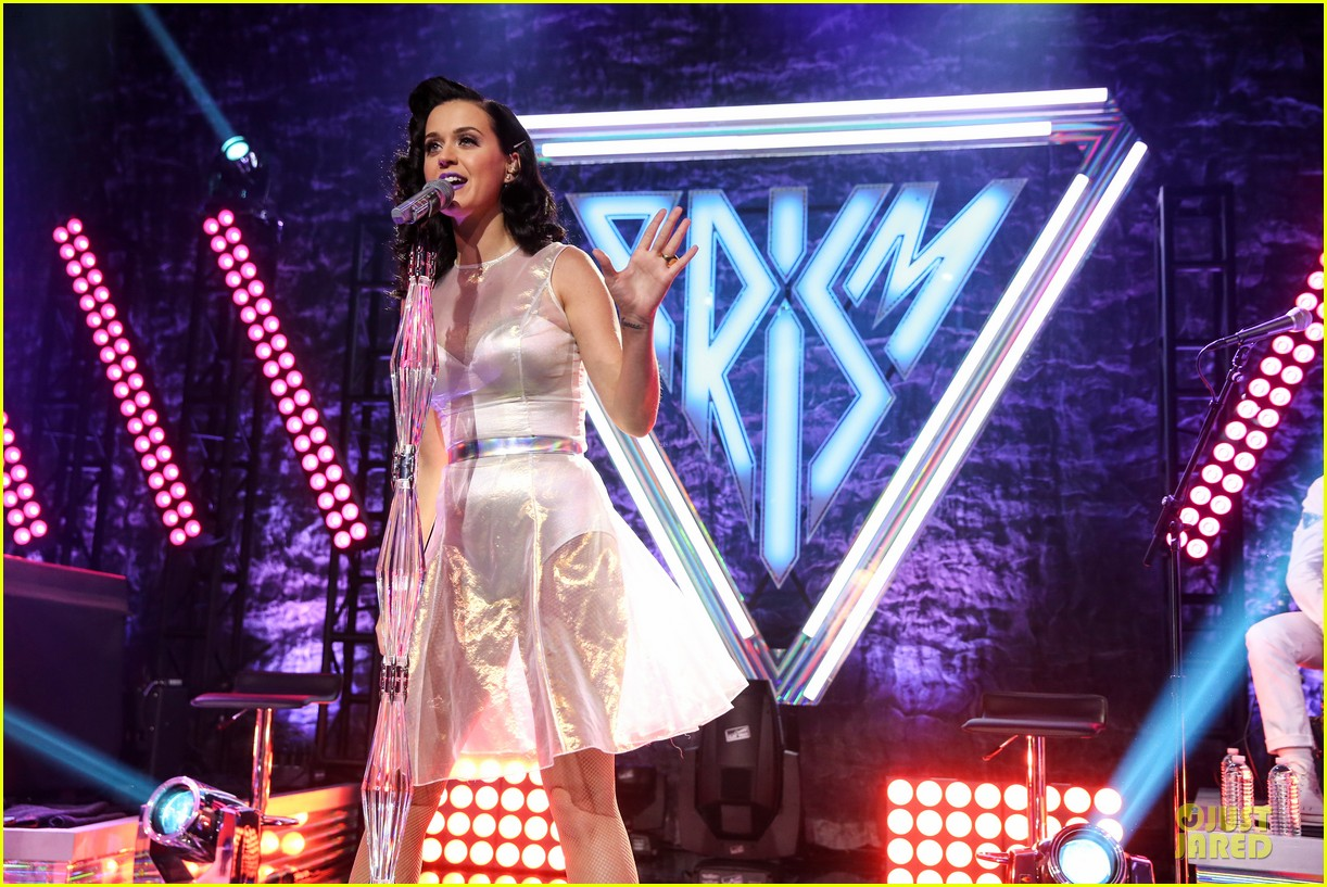 katy perry performs at iheartradio prism release party 132977430