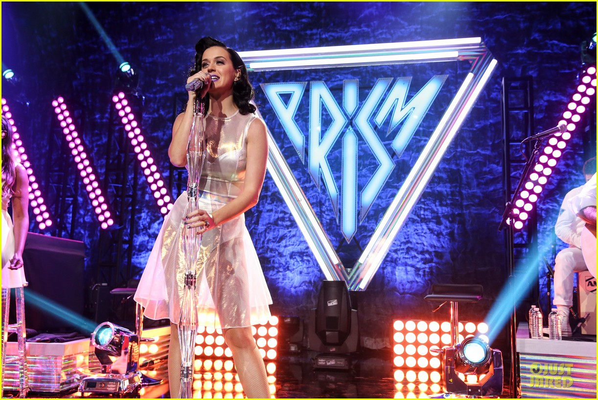 katy perry performs at iheartradio prism release party 152977432
