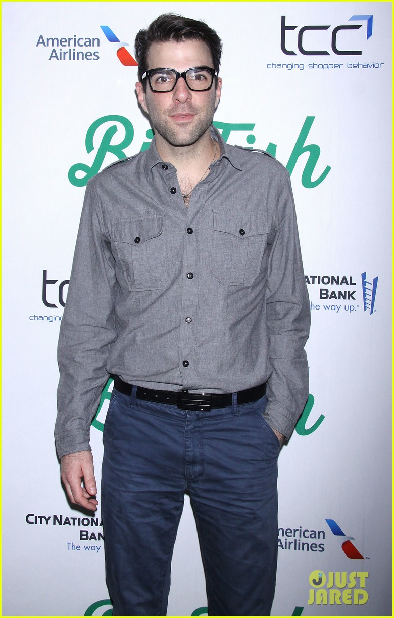 zachary quinto liev schreiber big fish opening night 152967539