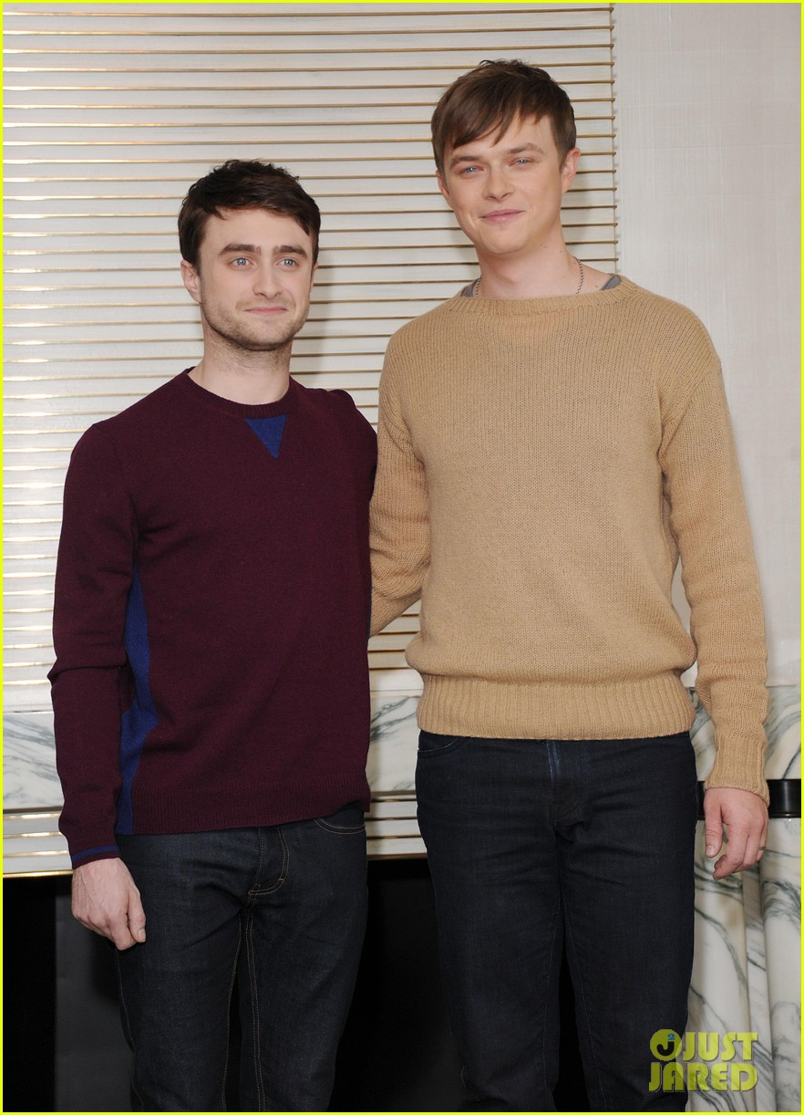 daniel radcliffe dane dehaan kill your darlings bfi photo call 072973741