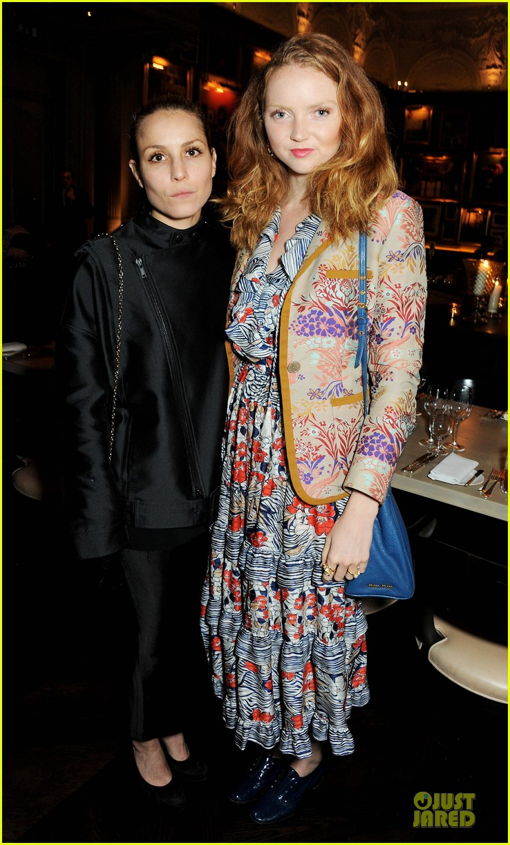 noomi rapace london edition nowness dinner with lily cole 032972256