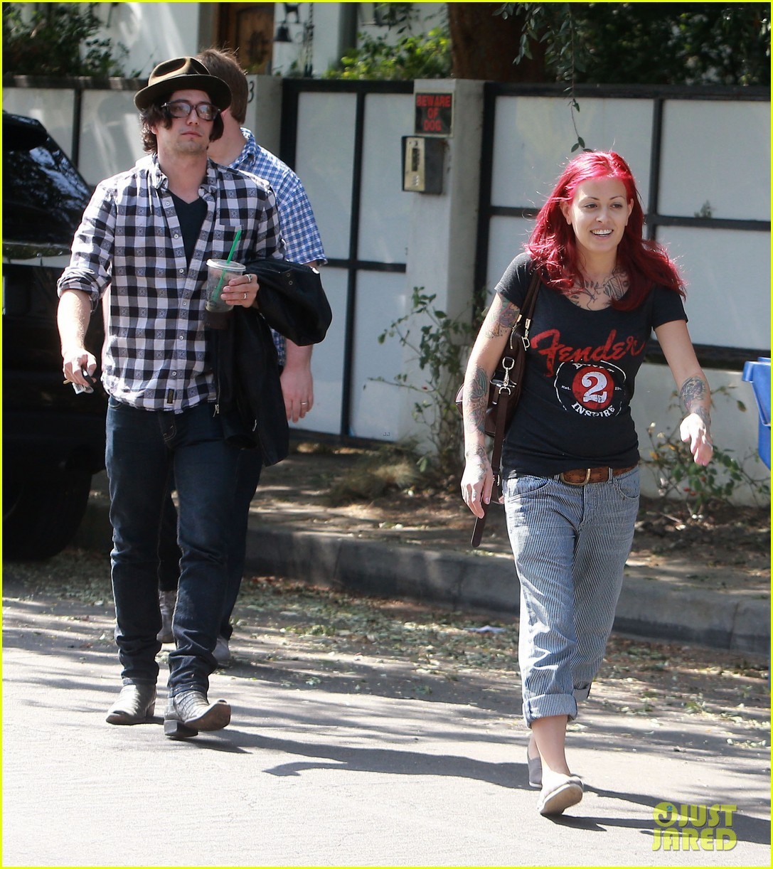 jackson rathbone sheila hafsadi step out after wedding 152964705