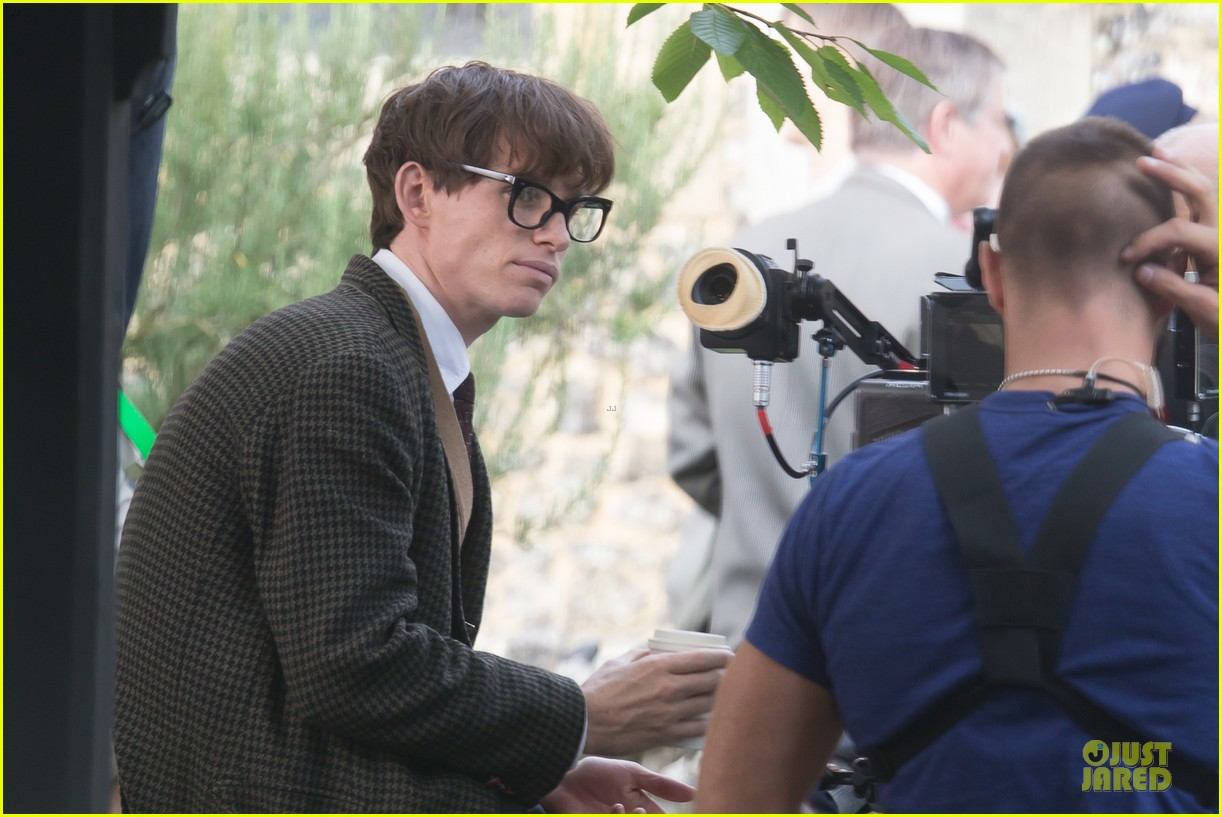 eddie redmayne felicity jones theory of everything set 23
