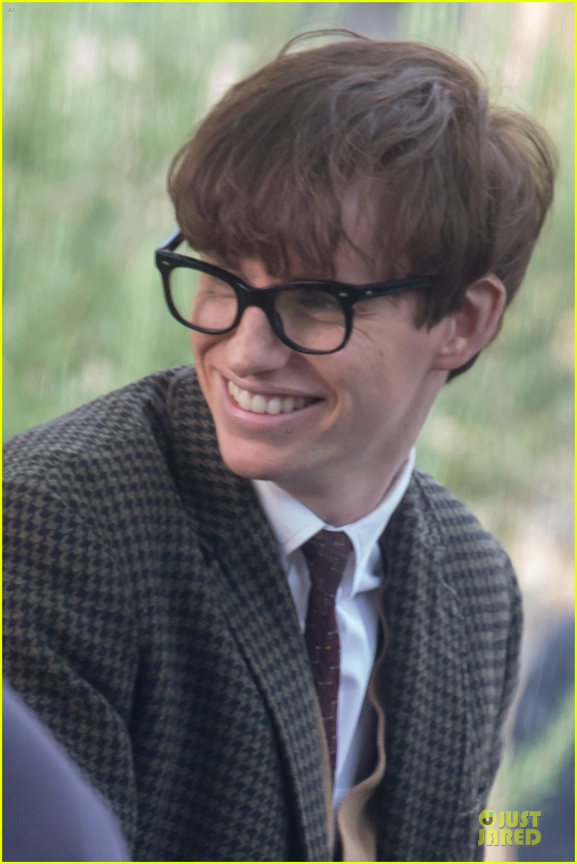 eddie redmayne felicity jones theory of everything set 25