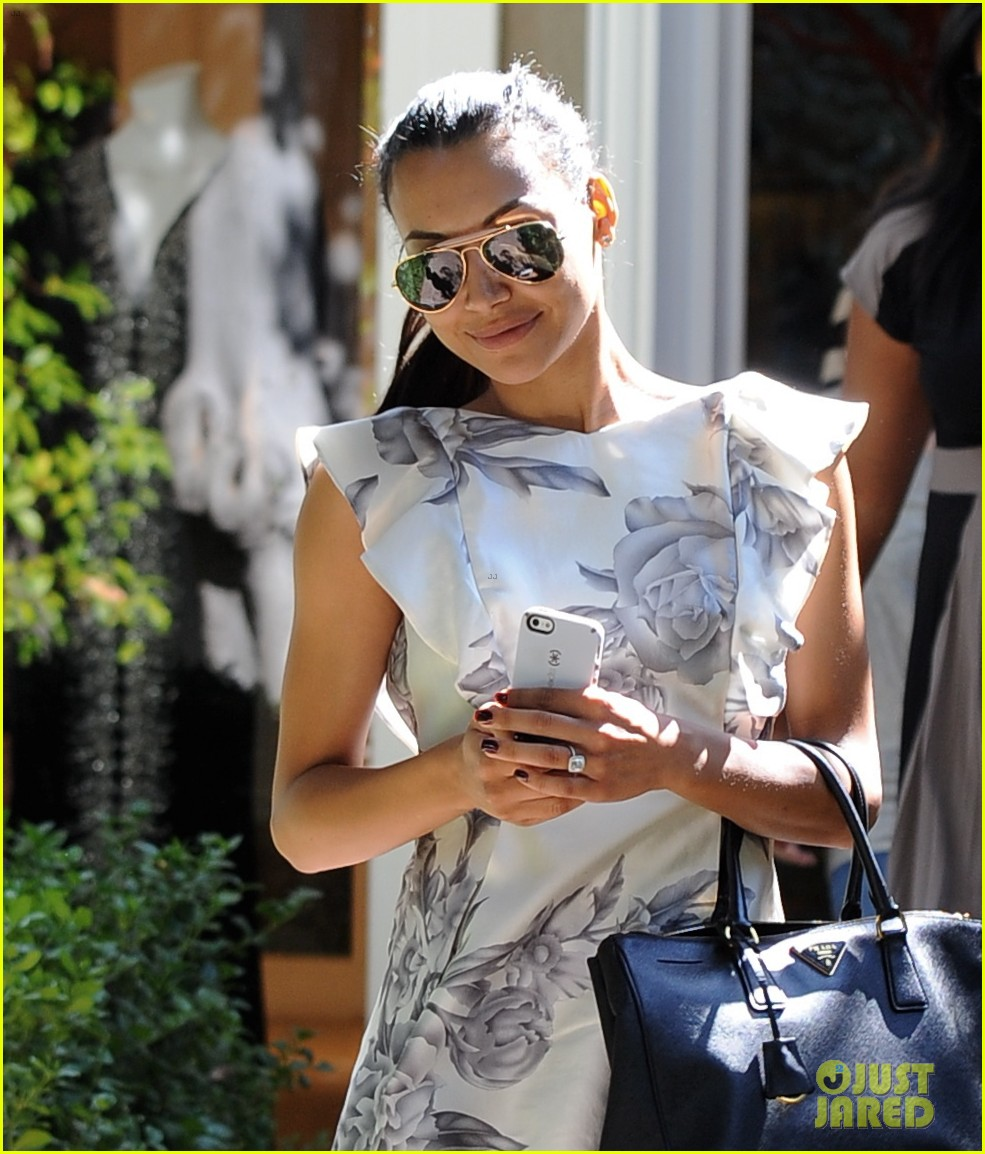 naya rivera goes wedding dress shopping with kevin mchale 082970790
