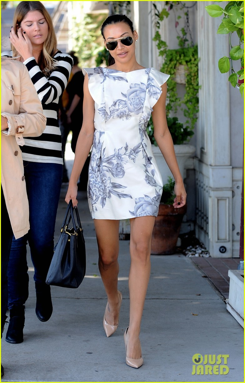 naya rivera goes wedding dress shopping with kevin mchale 272970809