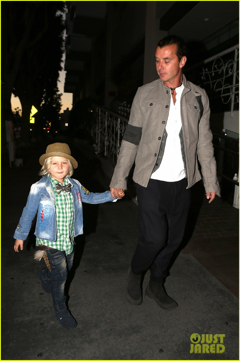 gavin rossdale celebrates birthday with gwen stefani kids 09