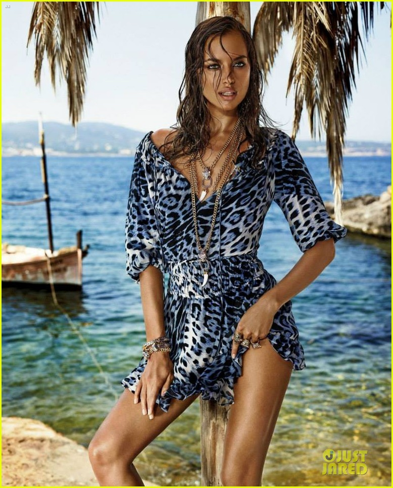 irina shayk robert cavalli collection campaign pics 022979500