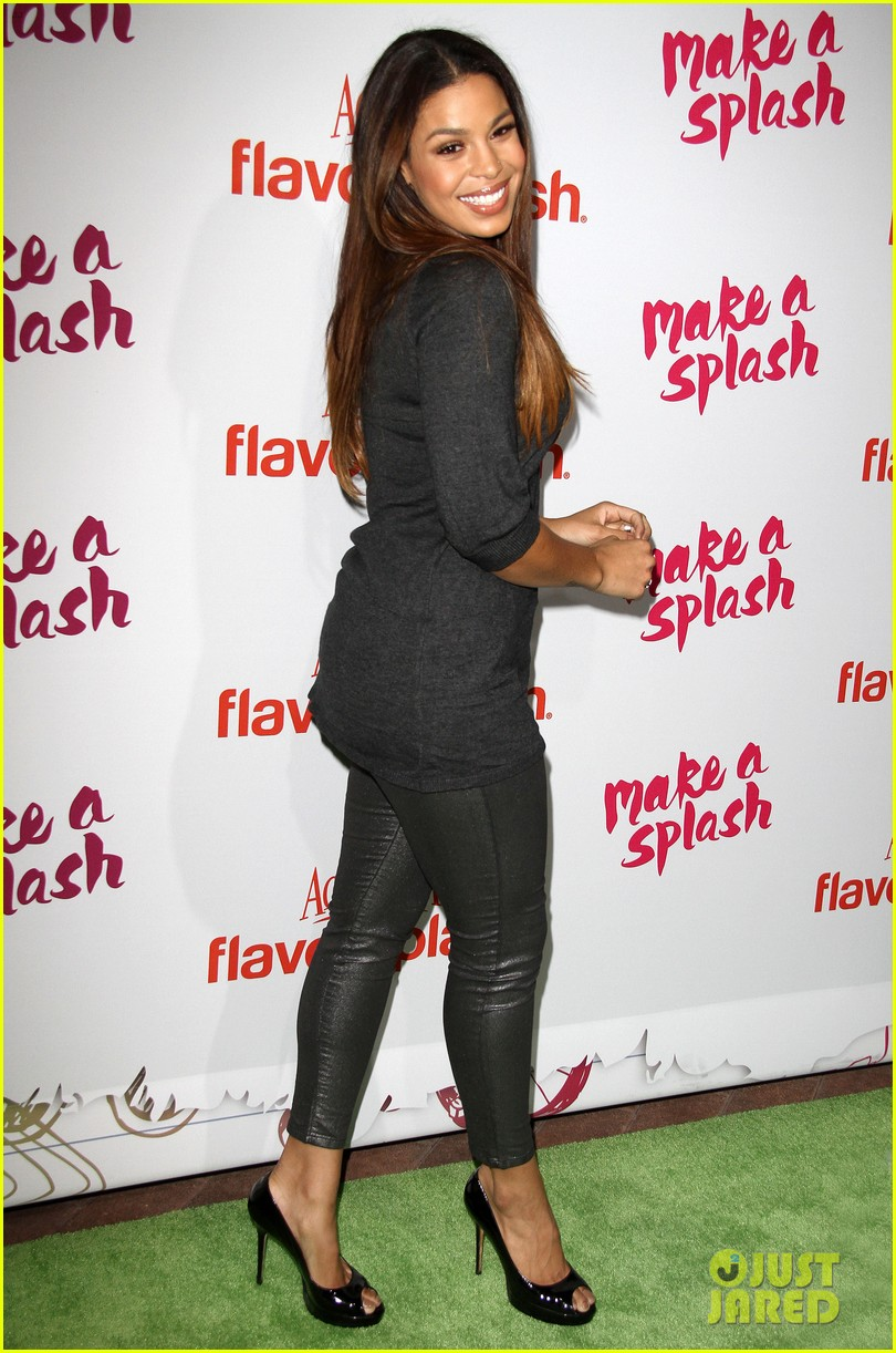 jordin sparks kat graham aquafinas flavorsplash launch 022972908