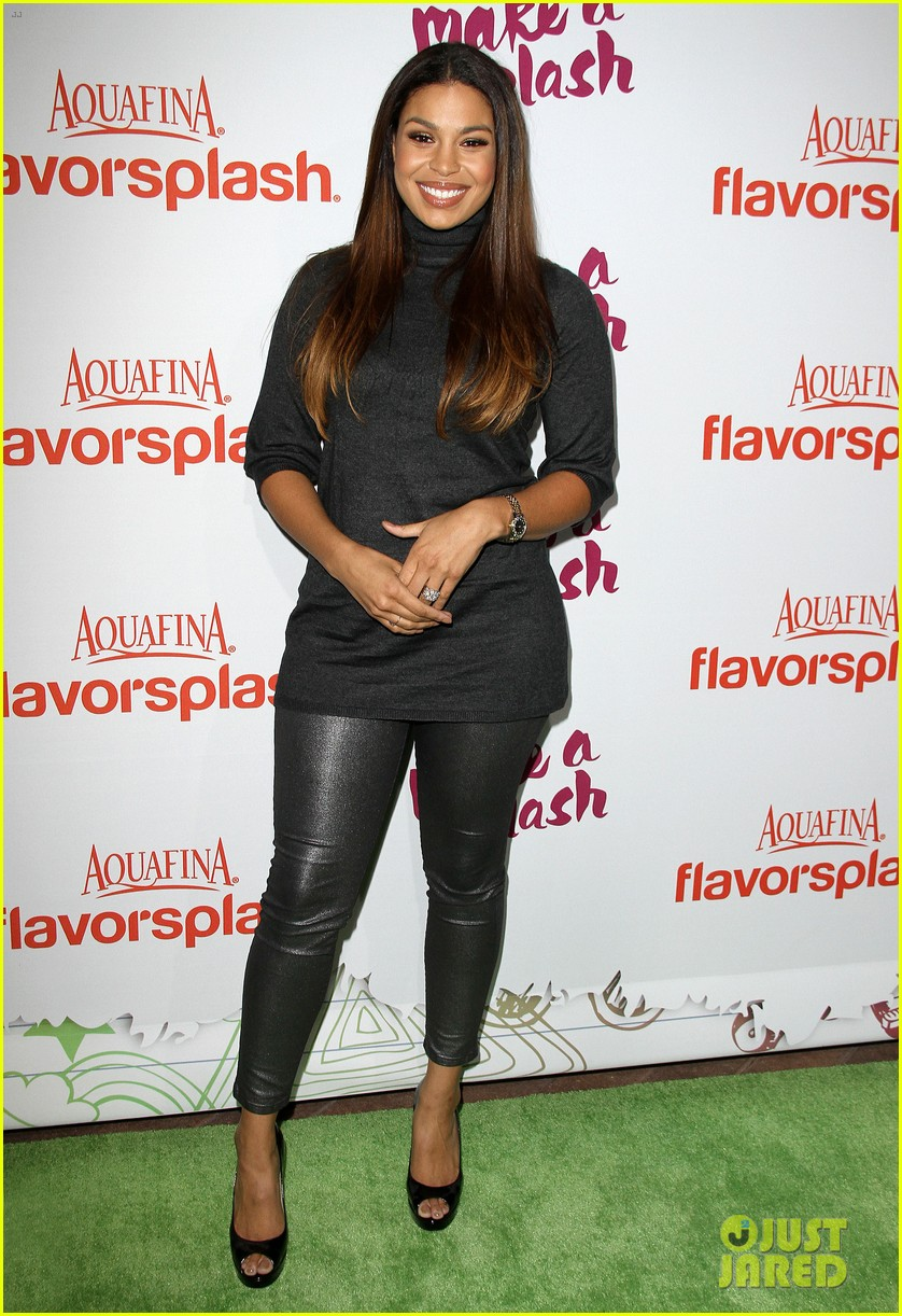 jordin sparks kat graham aquafinas flavorsplash launch 082972914