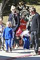 gwen stefani gavin rossdale lake arrowhead with the kids 12
