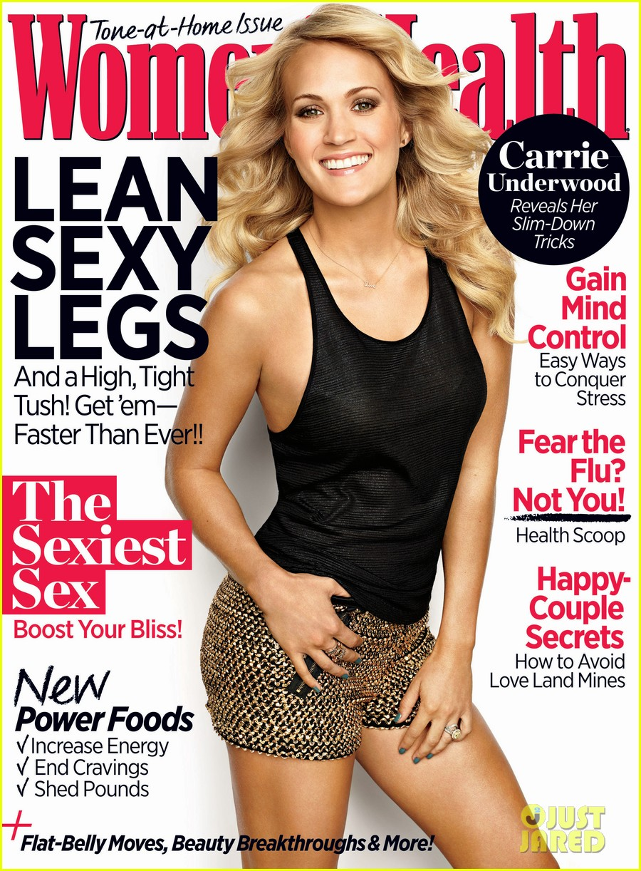 carrie underwood covers womens health november 2013 01