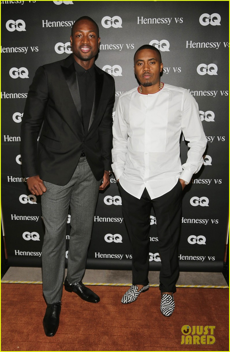gabrielle union dwyane wade gq men book celebration 04